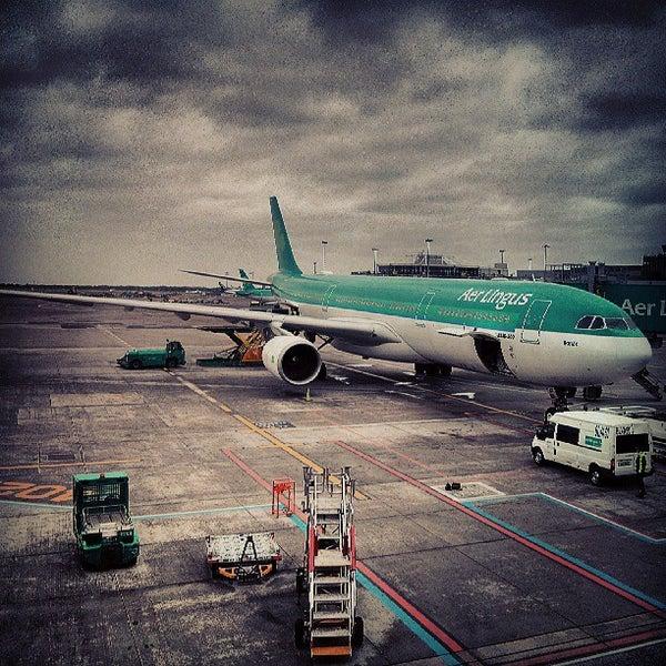 Foto tirada no(a) Aeroporto de Dublin (DUB) por David D. em 7/2/2013