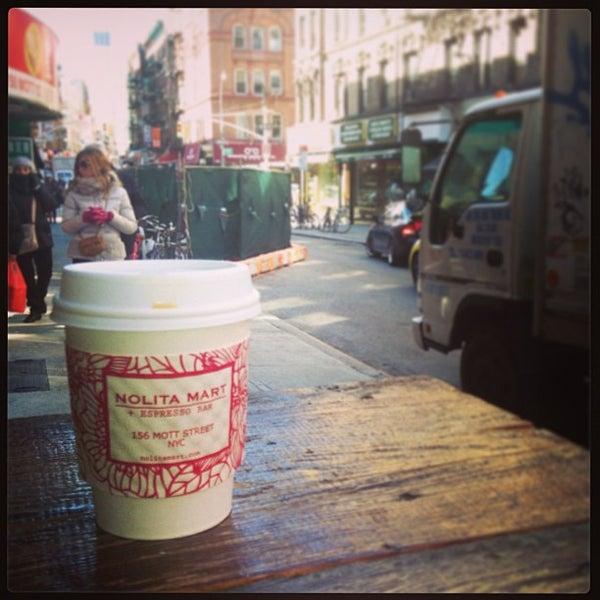 3/23/2013にBrennan D.がNolita Mart & Espresso Barで撮った写真