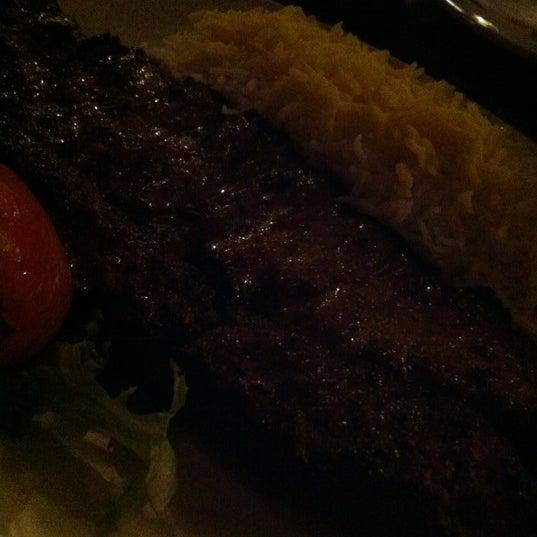 12/15/2012 tarihinde Fatima Al Slailziyaretçi tarafından Sufi's Restaurant'de çekilen fotoğraf
