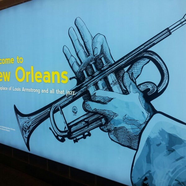 Foto scattata a Louis Armstrong New Orleans International Airport (MSY) da Allister S. il 6/26/2013