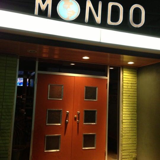 Снимок сделан в Mondo пользователем Ronald R. 10/29/2012