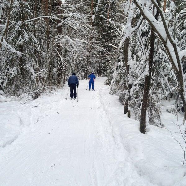 2/17/2013 tarihinde Галина П.ziyaretçi tarafından Охта Парк'de çekilen fotoğraf