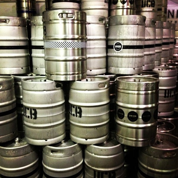 Photo taken at Union Craft Brewing by Brian S. on 12/2/2012