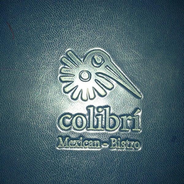7/28/2013 tarihinde Matthew G.ziyaretçi tarafından Colibrí Mexican Bistro'de çekilen fotoğraf