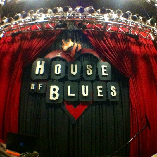 Foto tirada no(a) House of Blues San Diego por DjLORD em 12/13/2012