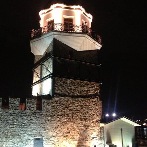 4/20/2013 tarihinde Haluk G.ziyaretçi tarafından Kız Kulesi'de çekilen fotoğraf