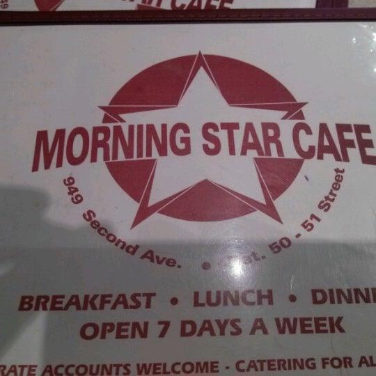 Photo prise au Morning Star Cafe par Annabel L. le10/11/2012