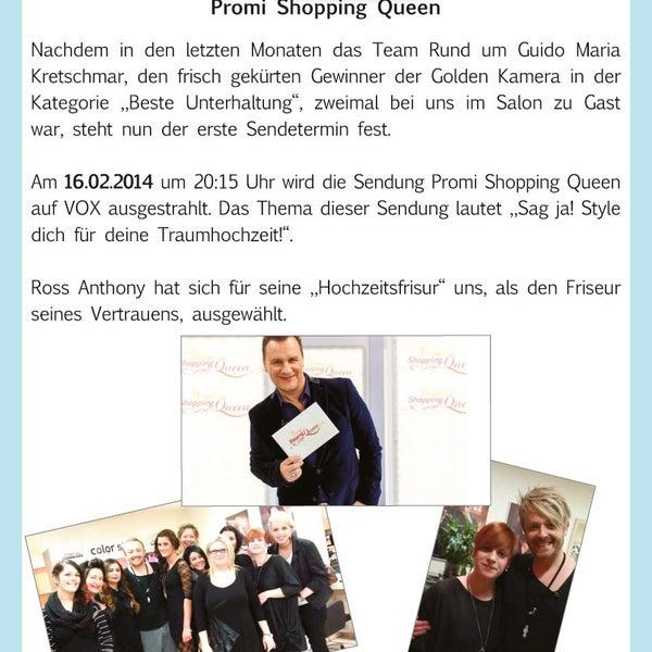Shopping Queen Friseur Friseur