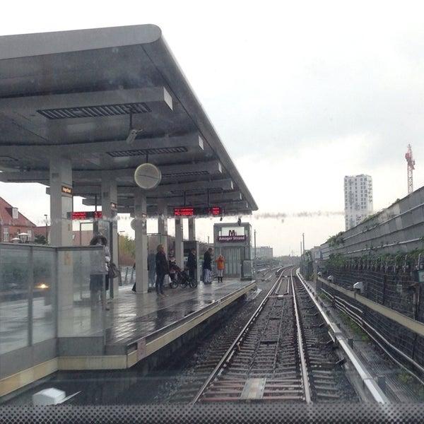 amager strand metro station