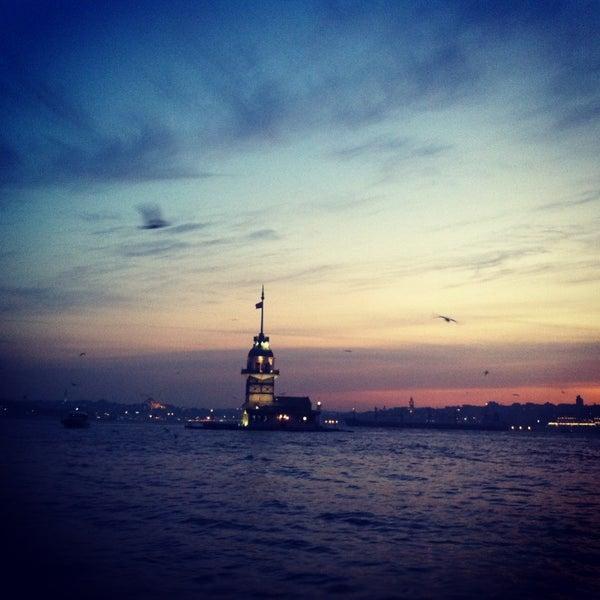 7/8/2013にDila Ç.がKız Kulesiで撮った写真