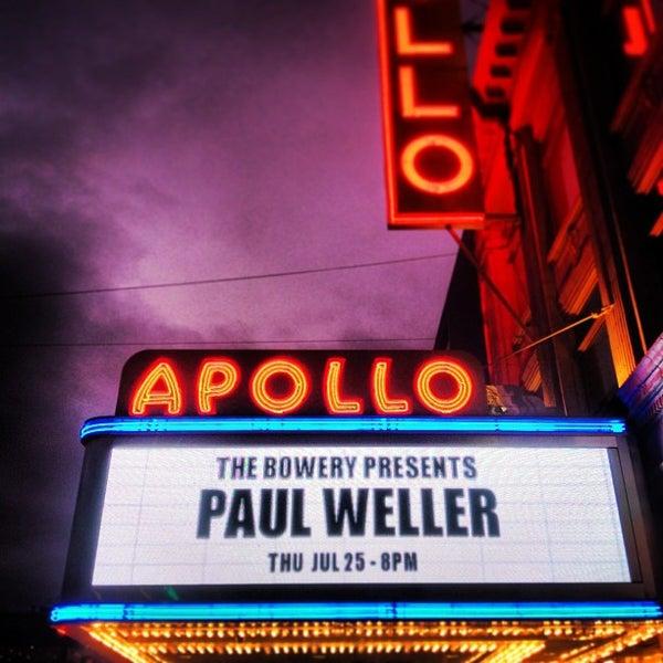 7/26/2013 tarihinde Marc L.ziyaretçi tarafından Apollo Theater'de çekilen fotoğraf
