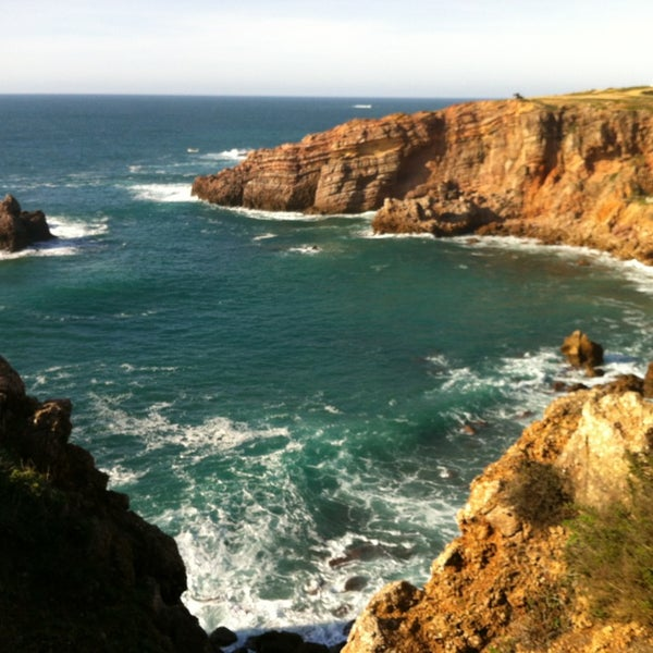 Praia do Amado, Costa Vicentina, Algarve, Portugal Stock