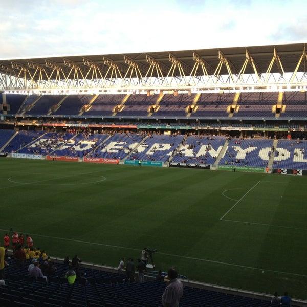 Foto diambil di RCDE Stadium oleh Rafel A. pada 6/3/2013