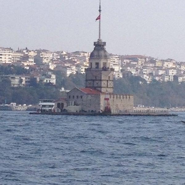 11/2/2013 tarihinde Hasan O.ziyaretçi tarafından Kız Kulesi'de çekilen fotoğraf