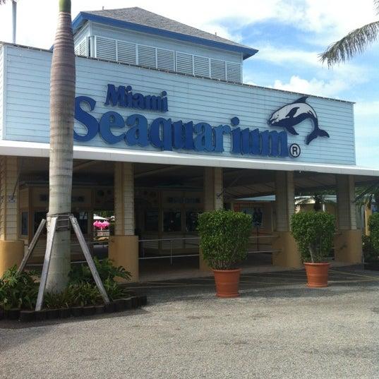 Foto scattata a Miami Seaquarium da Justin M. il 10/17/2012