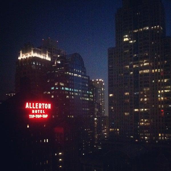 7/10/2013 tarihinde Tomas A.ziyaretçi tarafından MileNorth, A Chicago Hotel'de çekilen fotoğraf