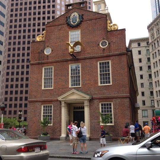 7/14/2012 tarihinde Arshad S.ziyaretçi tarafından Old South Meeting House'de çekilen fotoğraf