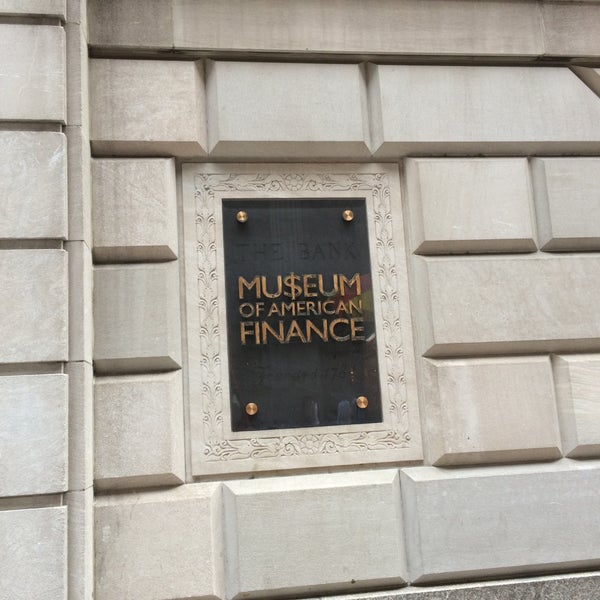 Foto tirada no(a) Museum of American Finance por Lauren Y. em 7/14/2015