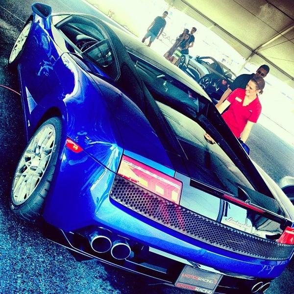 Снимок сделан в Exotics Racing пользователем LaLa C. 9/25/2012