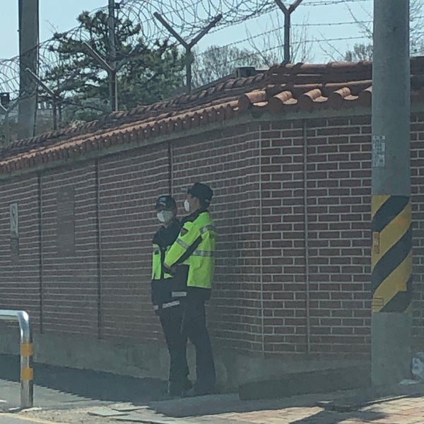 Photos at PED gate - 평택시, 경기도