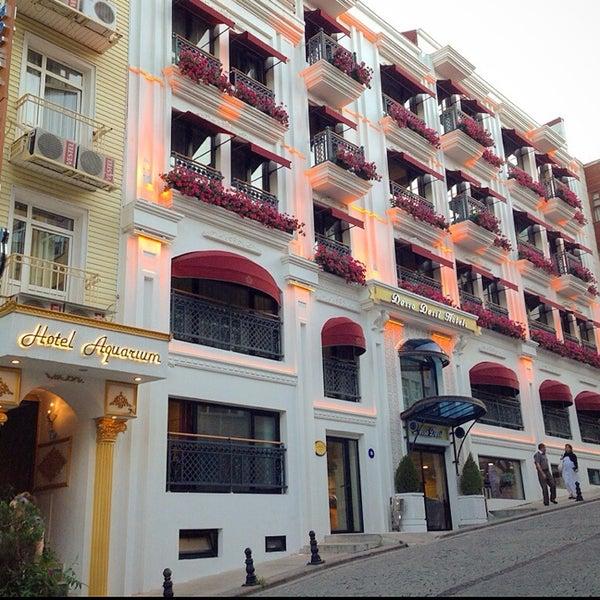 10/19/2014 tarihinde Mr.White✌ziyaretçi tarafından Aquarium Hotel Istanbul'de çekilen fotoğraf