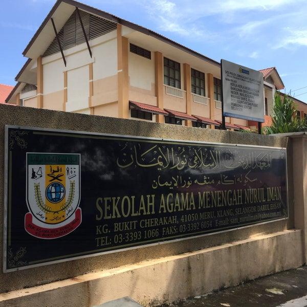 Sekolah Agama Menengah Nurul Iman Kg Bukit Cerakah