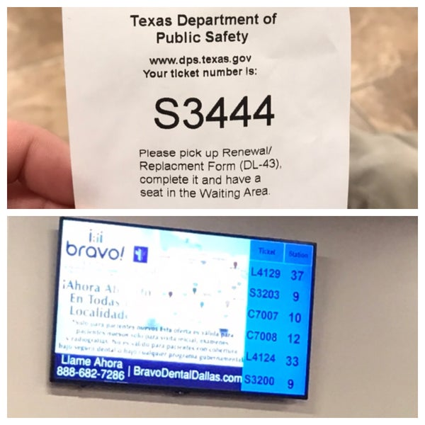 Photos at Texas Department Of Public Safety Drivers License