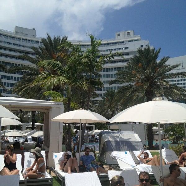 Das Foto wurde bei Fontainebleau Miami Beach von Louis K. am 5/18/2013 aufgenommen