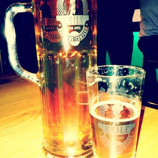 Das Foto wurde bei Exile Brewing Co. von Kim W. am 10/12/2012 aufgenommen