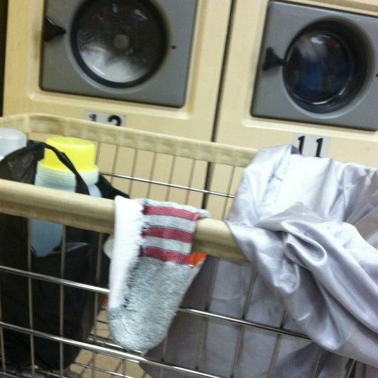 Photo taken at The Wash Depot Laundromat by Jorge Ayauhtli O. on 11/5/2012