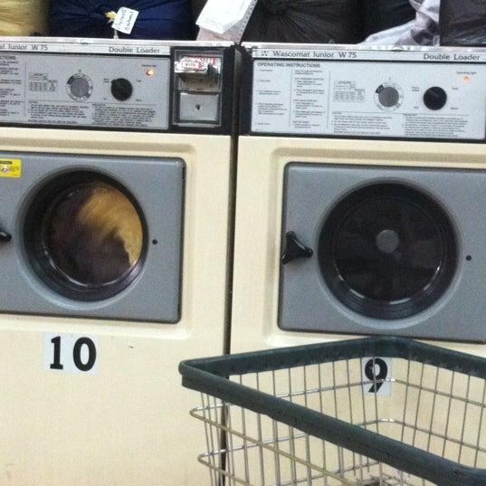 Photo taken at The Wash Depot Laundromat by Jorge Ayauhtli O. on 11/15/2012