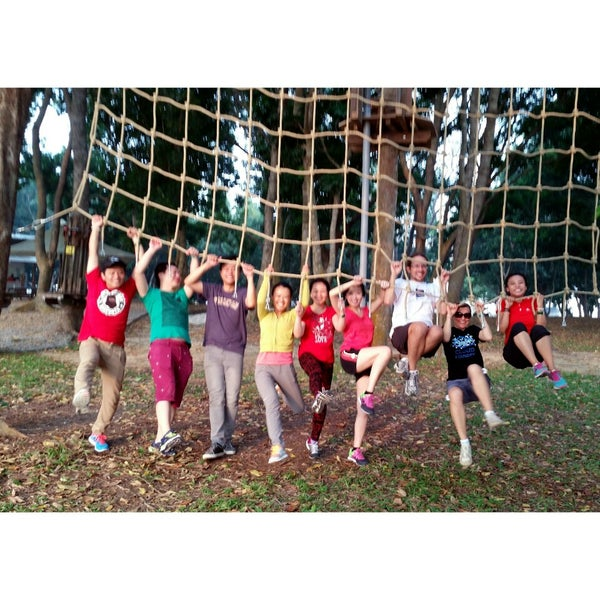 9/21/2014にTatyana K.がForest Adventure (Bedok Reservoir Park)で撮った写真