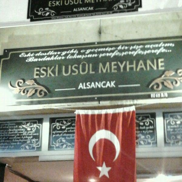 Снимок сделан в Eski Usül Meyhane пользователем kadir p. 9/7/2013