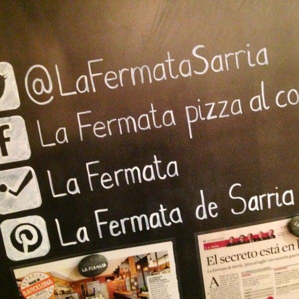 รูปภาพถ่ายที่ La Fermata de Sarrià โดย Jesus P. เมื่อ 9/3/2013