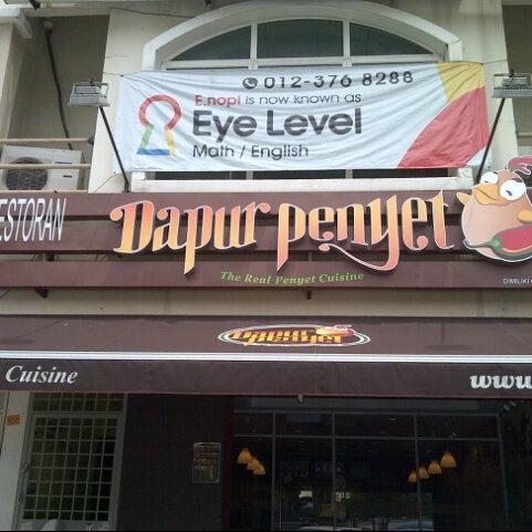 Photo Taken At Dapur Penyet Kota Damansara By Leka L On 5 1