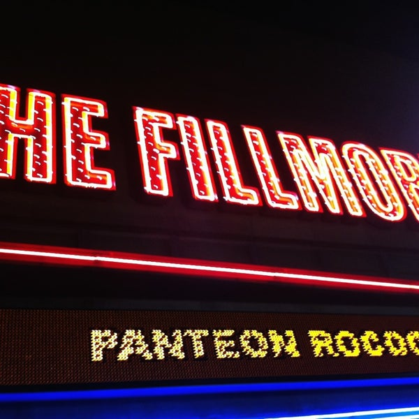 Photo prise au The Fillmore par Michael F. le8/2/2013
