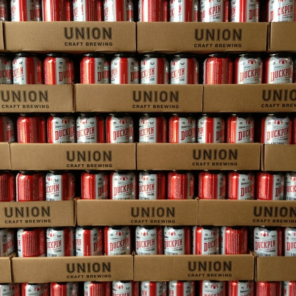 Photo taken at Union Craft Brewing by Sean O. on 8/10/2013