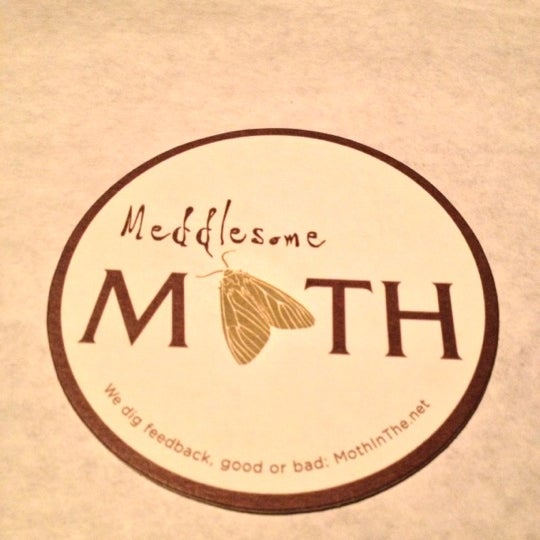 Photo taken at Meddlesome Moth by Stephanie S. on 11/10/2012
