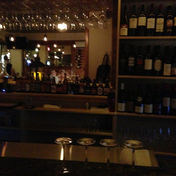 Wine bar just opened.