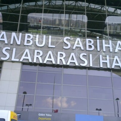 Снимок сделан в Аэропорт Стамбул им. Сабихи Гёкчен (SAW) пользователем Sevda A. 7/6/2013