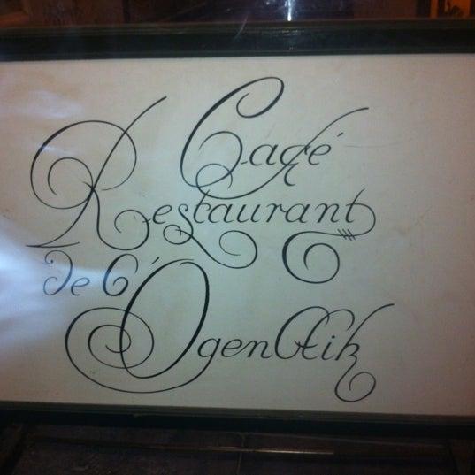 Photo prise au Restaurant de l'Ogenblik par Alexandr S. le12/6/2012
