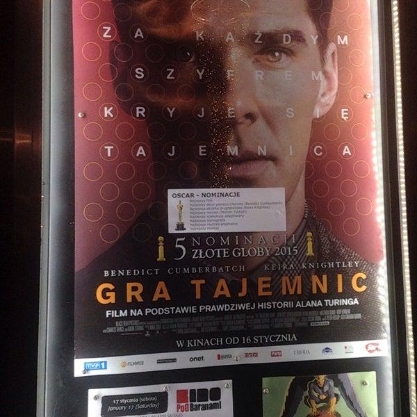Foto tomada en Kino Pod Baranami por Tatiana R. el 1/17/2015