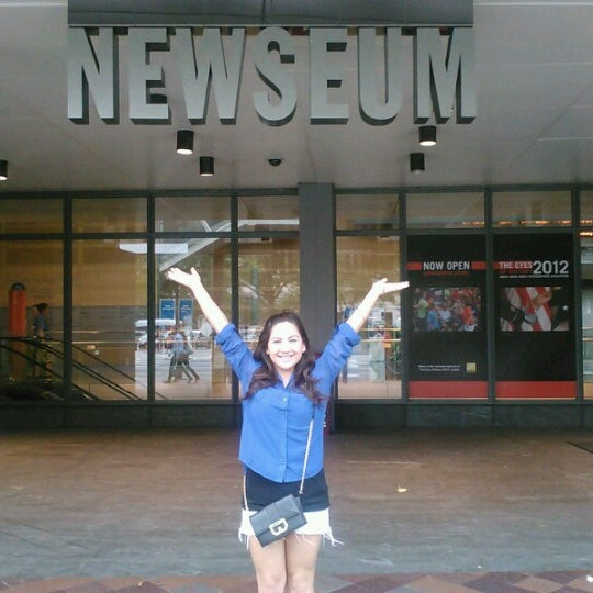 Foto scattata a Newseum da almendra c. il 10/6/2012