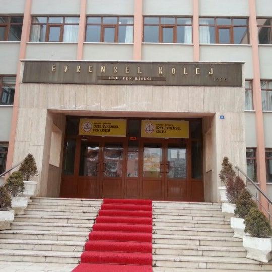 Evrensel Koleji çankaya 1225 Ziyaretçidan 16 Tavsiye