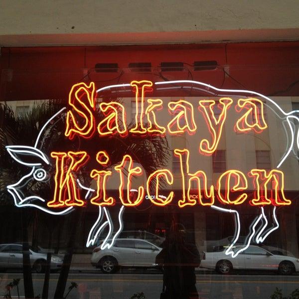 Das Foto wurde bei Sakaya Kitchen von Mac M. am 3/13/2013 aufgenommen