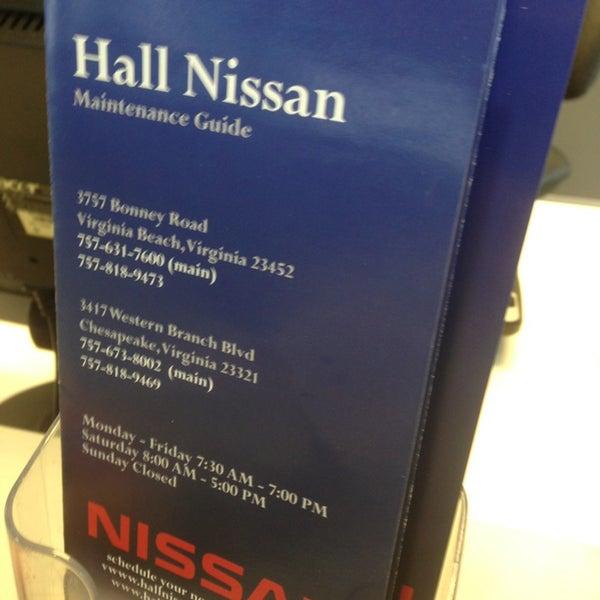Hall Nissan Virginia Beach >> Hall Nissan Auto Dealership In Virginia Beach