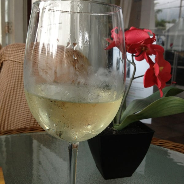Relaxing place to enjoy a glass of New Zealand sav blanc on the porch!