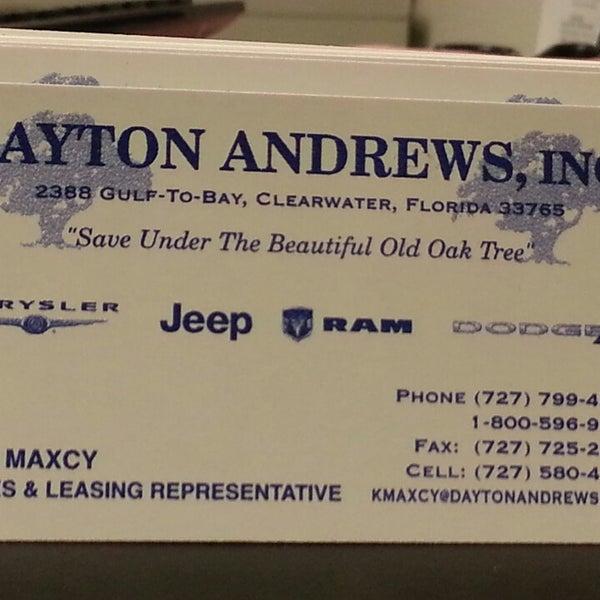 Dayton Andrews Jeep >> Dayton Andrews Chrysler Jeep - 2 Tipps von 115 Besucher