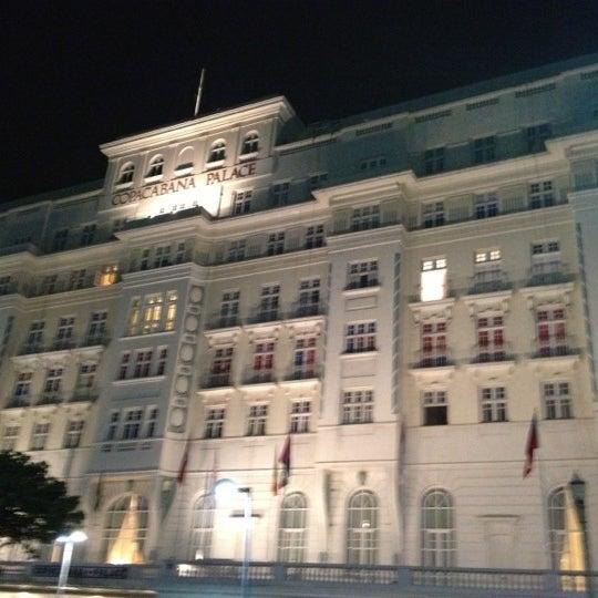 11/4/2012에 Victor님이 Belmond Copacabana Palace에서 찍은 사진