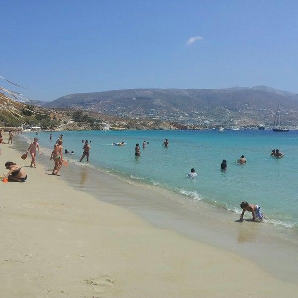 Paros Beaches: Μαρτσέλο (Martselo Beach)